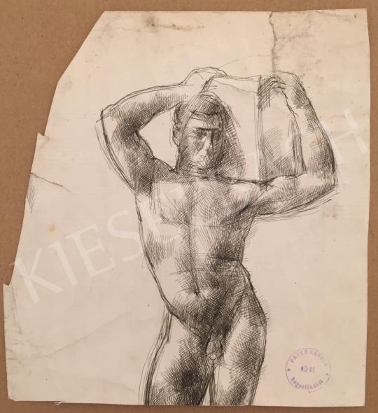 For sale  Patkó, Károly - Boy Nude 's painting