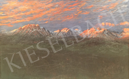 Unknown painter - Tatra Landscape painting