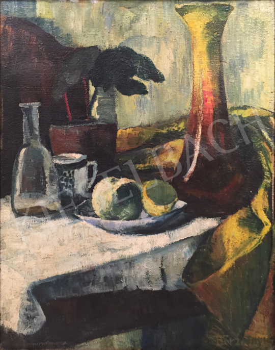 For sale  Börzsönyi Kollarits, Ferenc - Studio still life 's painting