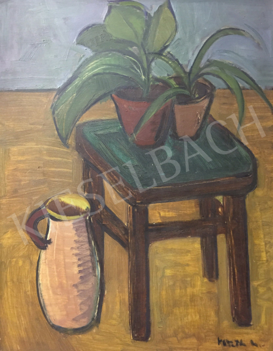 For sale  Koszta, Rozália - Still life in the House of Culture 's painting