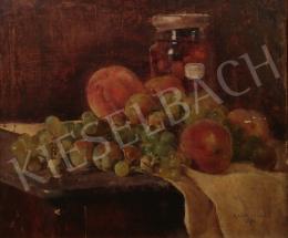 Kosztolányi Kann Gyula - Asztali csendélet gyümölcsökkel