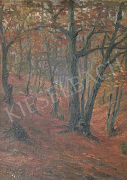 Ismeretlen festő - Őszi erdő