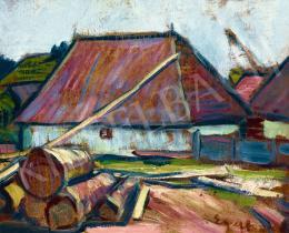 Egry József - Erdélyi házikó, 1910-es évek eleje