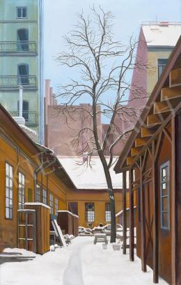 Mácsai István - Pesti csend (Tél a városban)