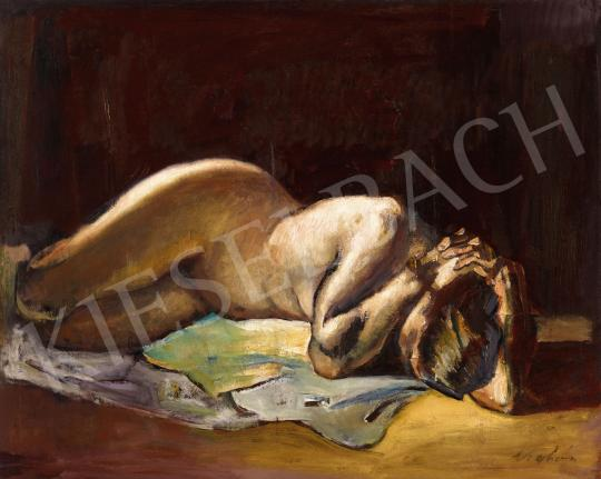 For sale Kohán, György - Lying Female Nude 's painting
