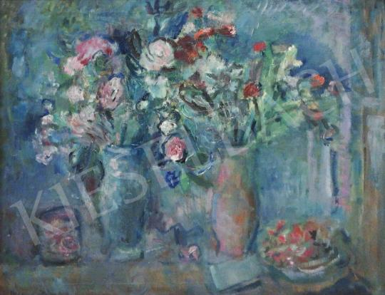 For sale  Diener-Dénes, Rudolf - Freshly Picked Flowers (Hommage a Chagall) 's painting
