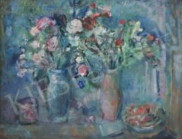 Diener-Dénes Rudolf - Frissen szedett virágok (Hommage a Chagall)