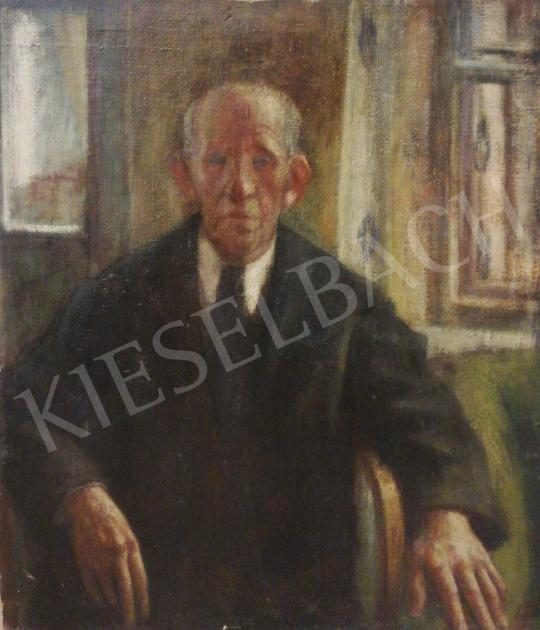For sale Ősz, Dénes - Grandfather by the Window (Hommage a Szőnyi) 's painting