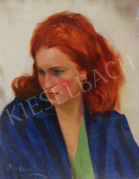 Eladó  Benkhard Ágost - Vörös hajú lány, 1932 festménye