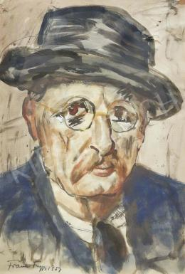Frank, Frigyes - Self-Portrait, 1951