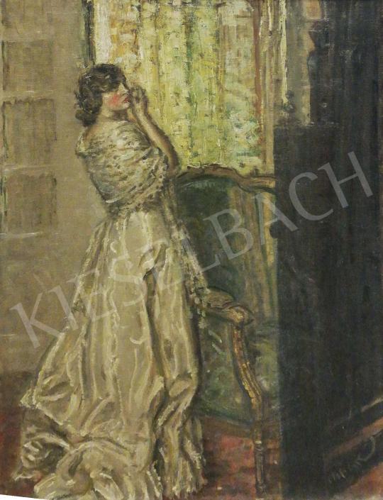 Eladó Márk Lajos - Készülődés festménye