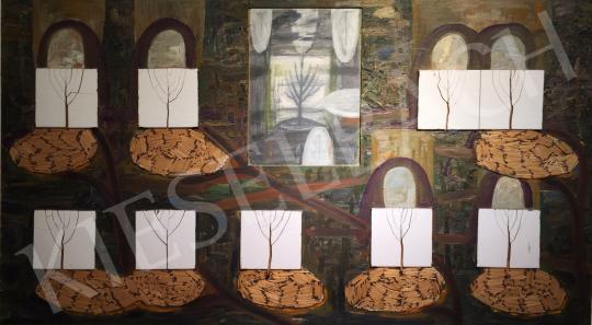 Bukta Imre - Ártatlanság kora festménye
