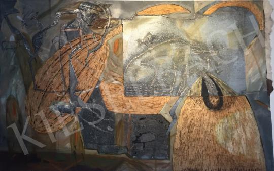 Bukta Imre - Beteg boci festménye