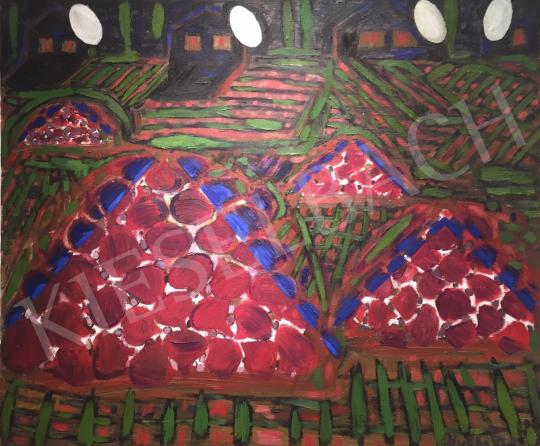 Bukta Imre - Céklahalmok festménye