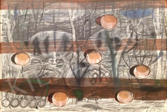 Bukta Imre - Fakitermelés festménye