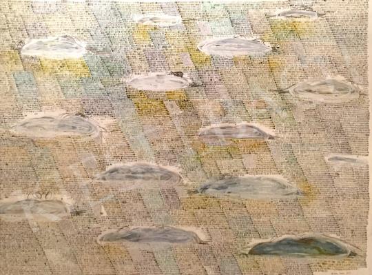 Bukta Imre - Felhők  festménye