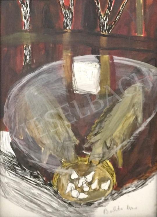 Bukta Imre - Házidisznó, vaddisznó festménye
