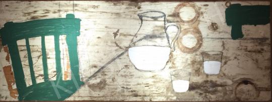 Bukta Imre - Két pohár tej festménye