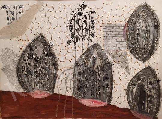 Bukta Imre - Napraforgók festménye