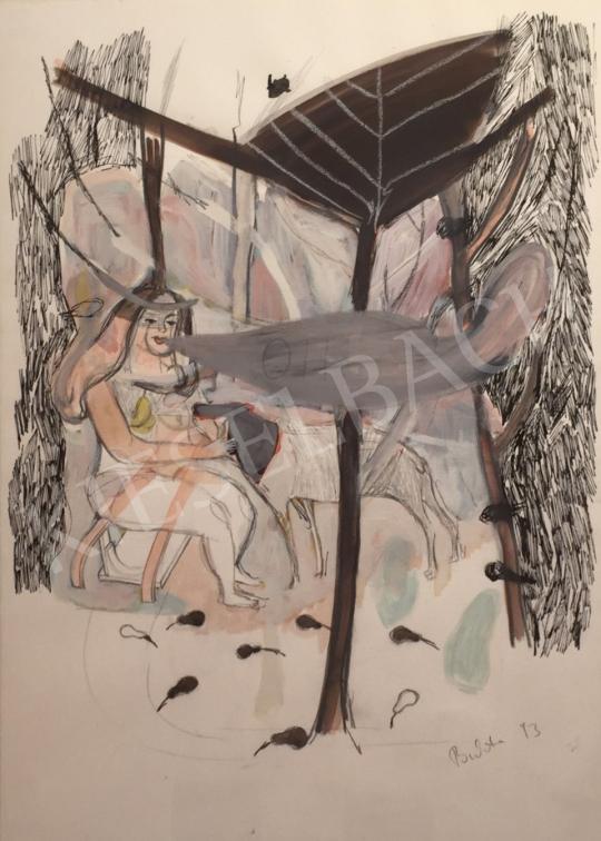 Bukta Imre - OH!  festménye