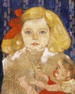 Gyenes Gitta - Lány babával