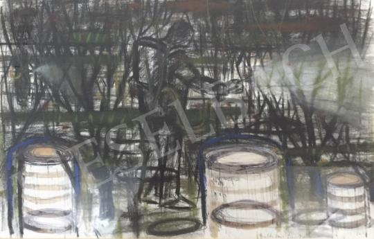 Bukta Imre - Permetezés festménye