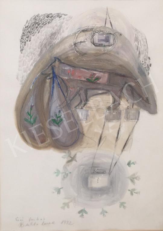 Bukta Imre - Síró farkas festménye