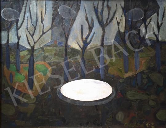 Bukta Imre - Szilvafák festménye