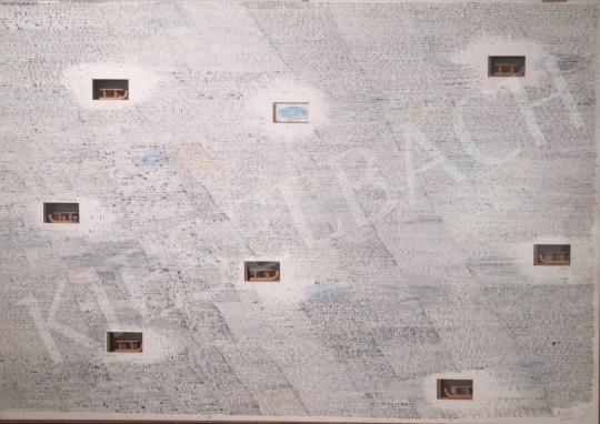 Bukta Imre - Táj szánkókkal festménye