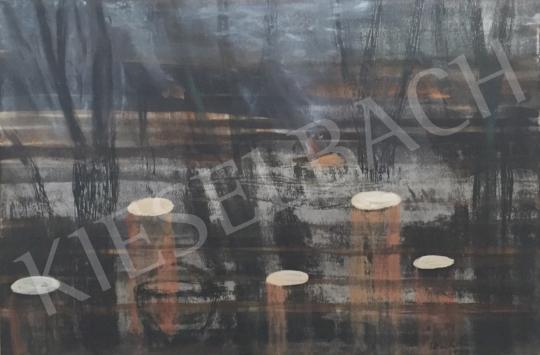Bukta Imre - Tüzek a határban festménye