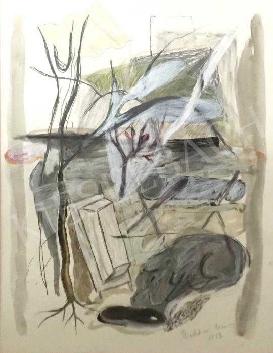 Bukta, Imre - Yard painting