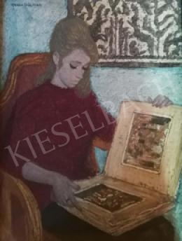Czene, Béla jr. - Reading Woman, 1964