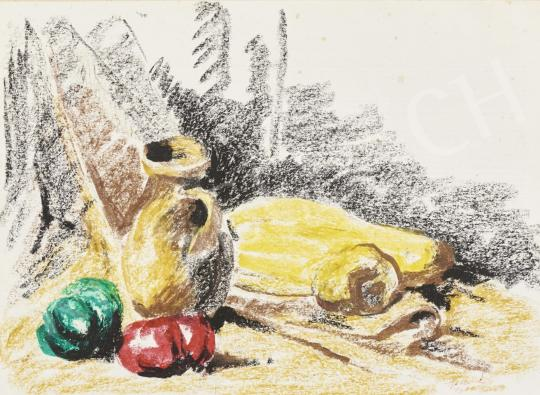 For sale  Holló, László - Table Still Life, 1971 's painting