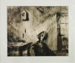 Schadl János - Napfény a szobában (Az idő múlása), 1930