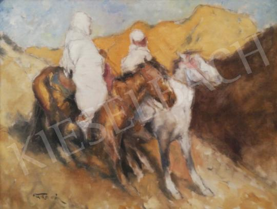 For sale  Fried, Pál - Arabian Rieders 's painting