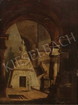 Donhoffer jelzéssel - Capriccio (Canova síremléke), 1809