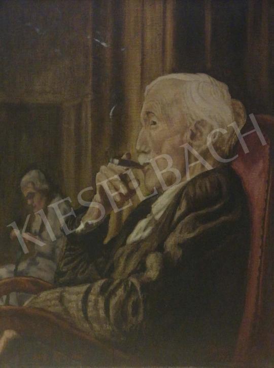 Eladó  Gálffy Béla - Rudnay Gyula portréja festménye
