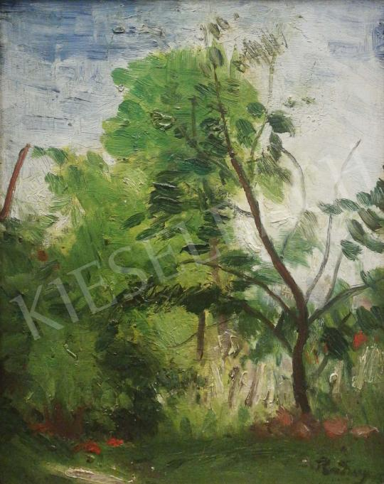 For sale  Rudnay, Gyula - Lush Trees in the Garden 's painting