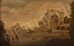 Ismeretlen németalföldi festő, 18. század - Capriccio