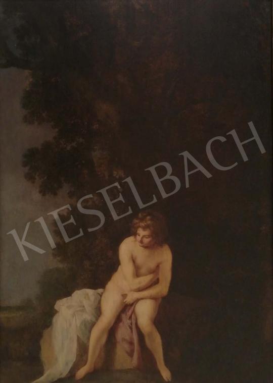 Eladó  Ismeretlen 17. századi holland festő HR jelzéssel - Zsuzsanna festménye