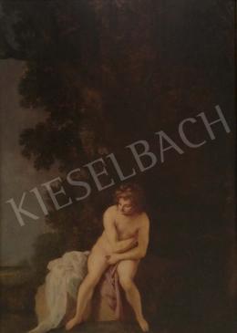 Ismeretlen 17. századi holland festő HR jelzéssel - Zsuzsanna