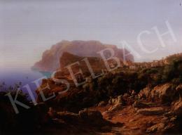 Ligeti Antal - Capri látképe