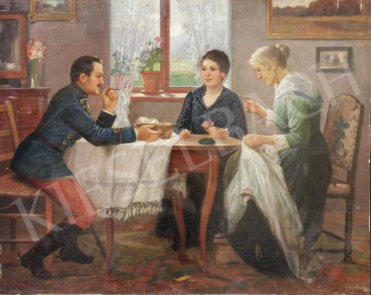 For sale  Johann Süss - Courtship 's painting