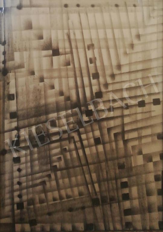 Gyarmathy, Tihamér - Composition, 1965 painting