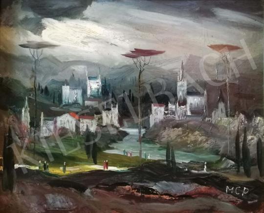 Molnár C., Pál - Italian Landscape painting