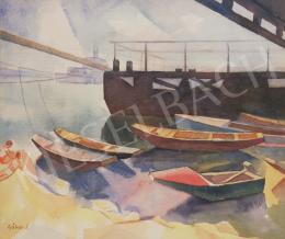Gábor Jenő - Csónakkikötő