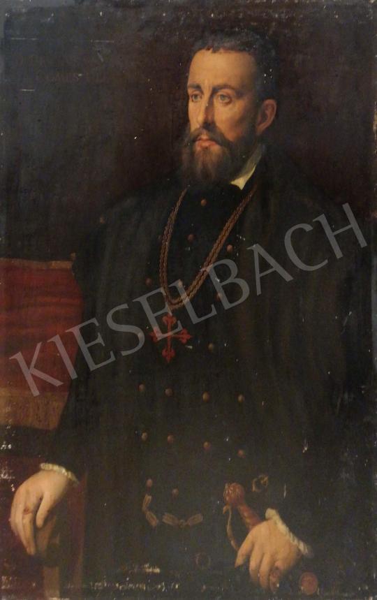 Eladó  Ismeretlen közép-európai festő, 1930 körül - Nemesi férfi portré festménye