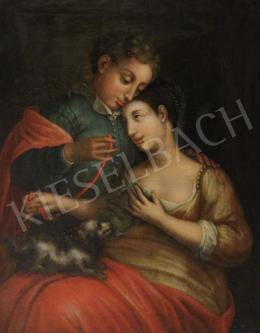 Ismeretlen 18. századi művész - Szerelmespár (Kötelék)