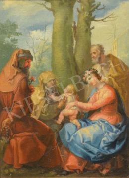 Ismeretlen 17. századi festő - A szent család