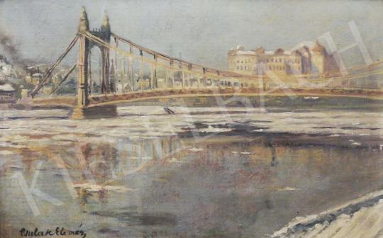 For sale Csulak, Elemér - The Old Elizabeth Bridge 's painting
